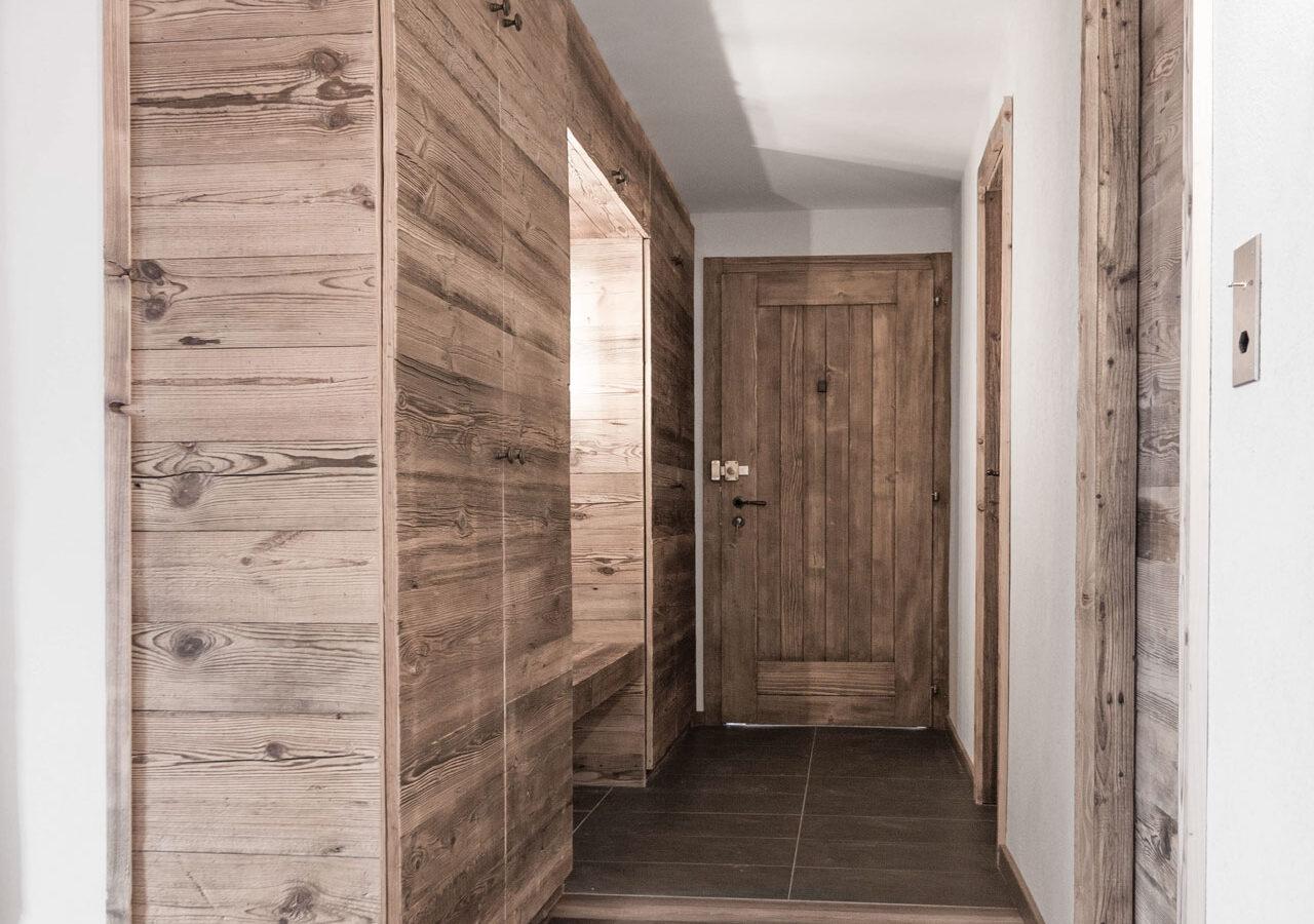 CSDK - Appartement - Verbier - Transformation - Couloir