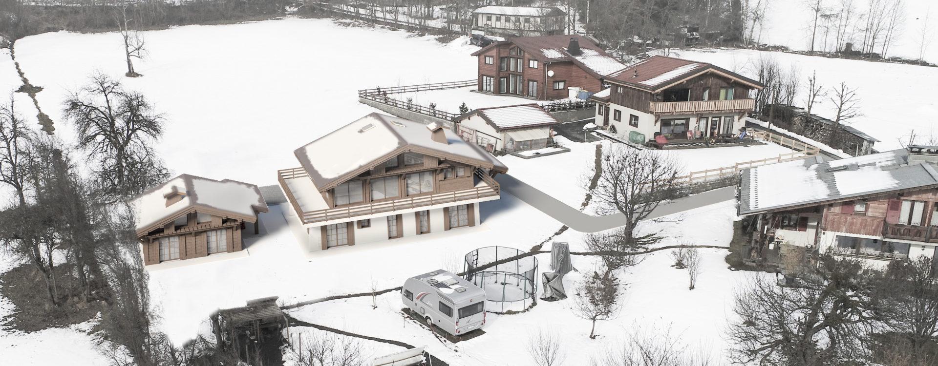 chalet préfabriqué : Chamonix