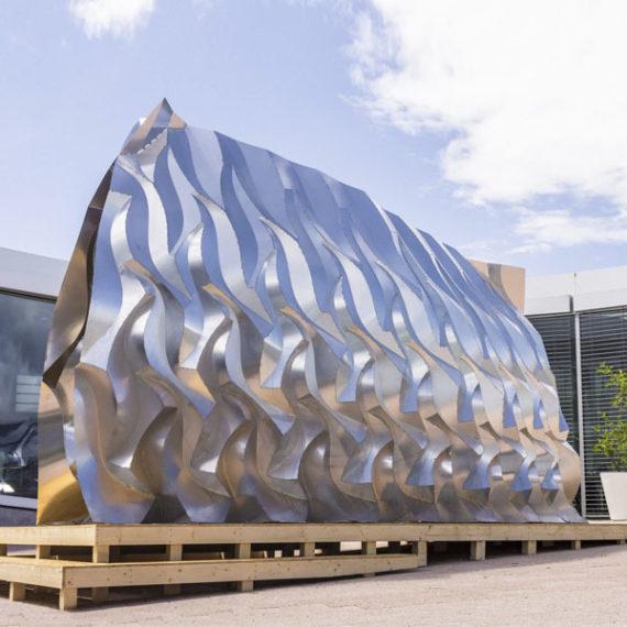CSDK Pavilion Lausanne EPFL Aluminium feature 570x570 - LAUSANNE PAVILION - CSDK Pavilion Lausanne EPFL Aluminium feature 570x570