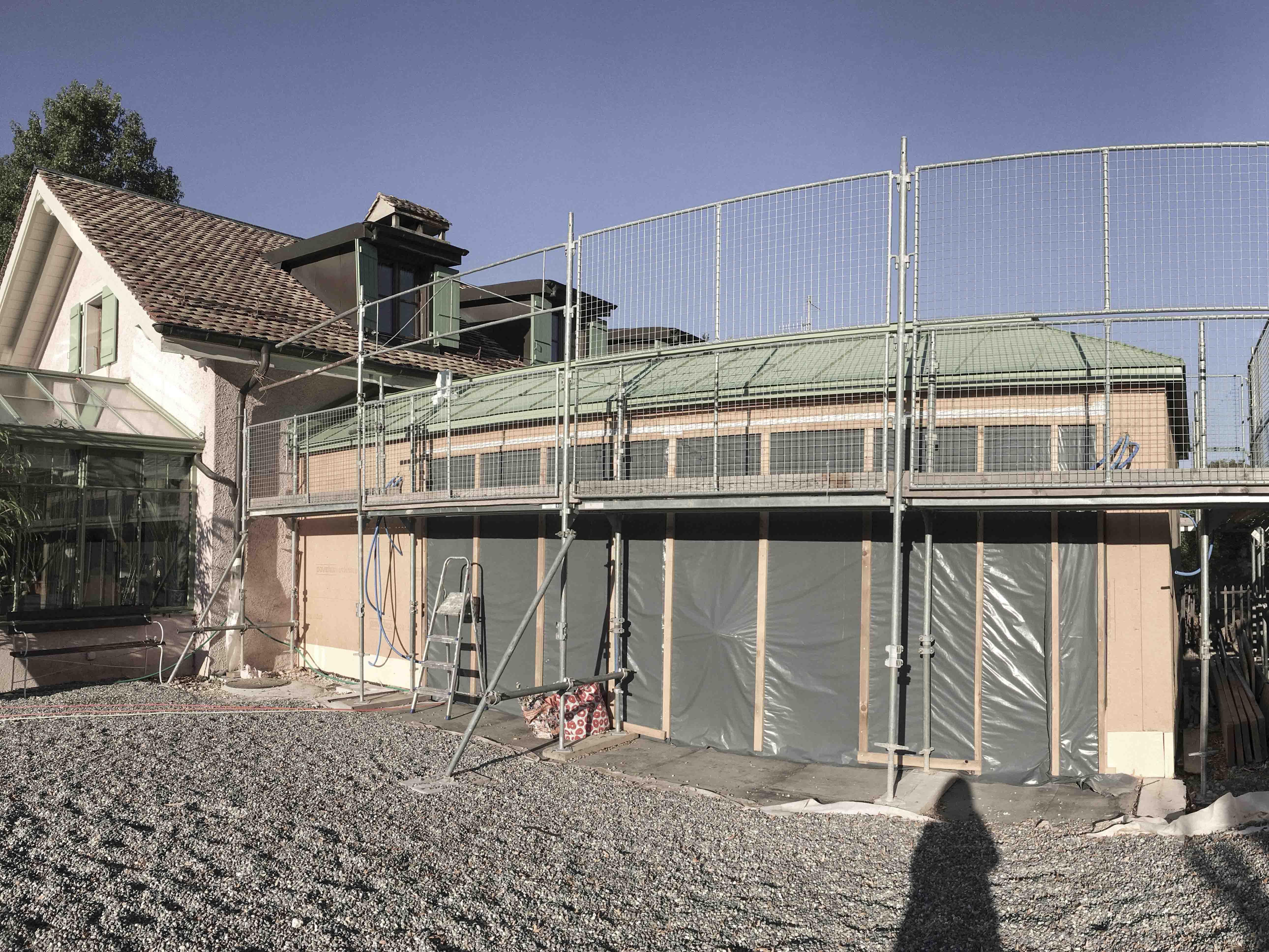 CSDK Architectes Extention Cara Construction 06. - Extension d'une maison - Presinge - CSDK Architectes Extention Cara Construction 06.
