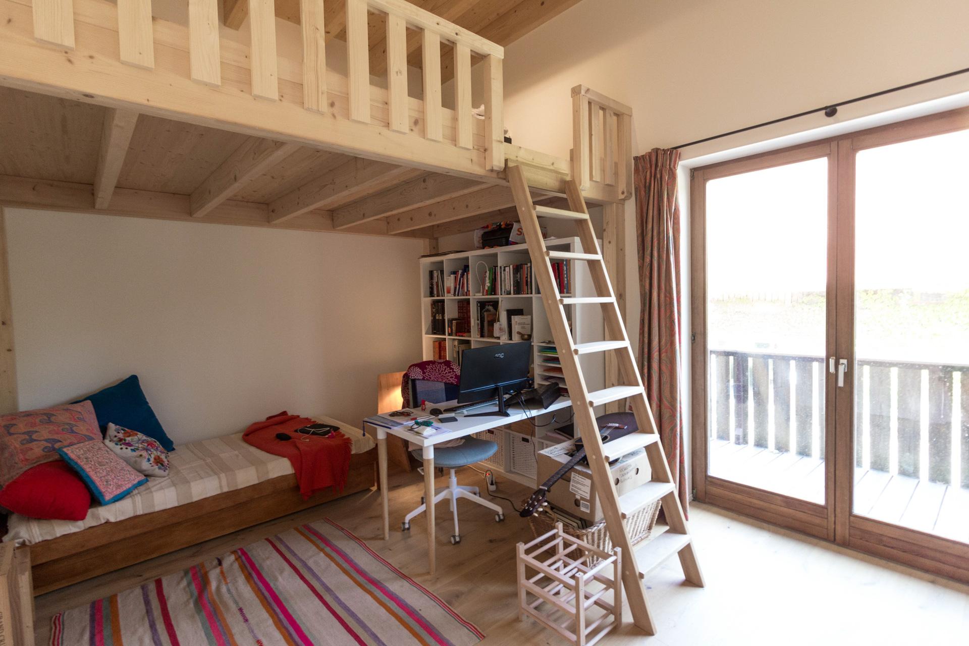 Apartment renovation : Bedroom