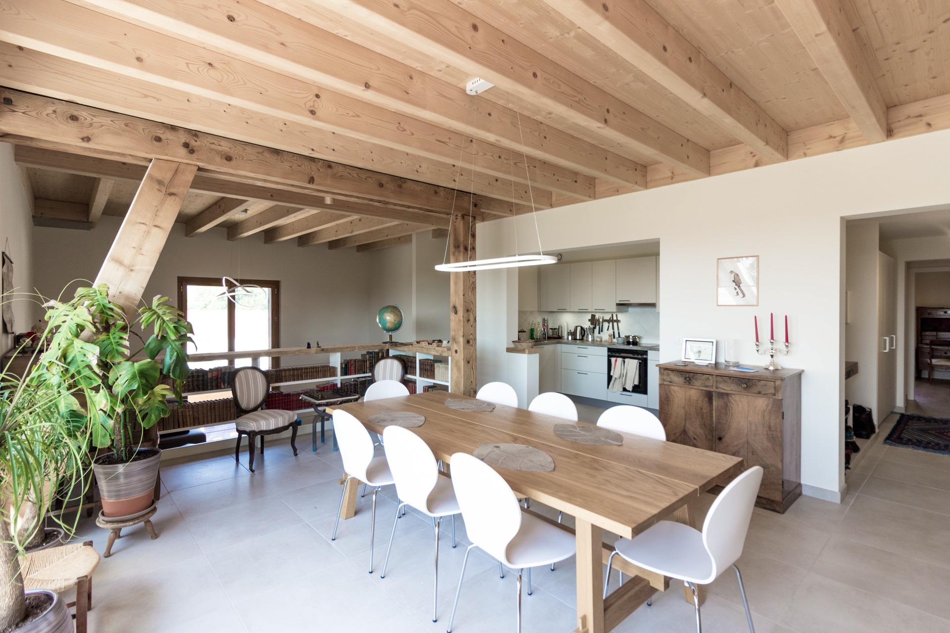 Apartment renovation : Dining room