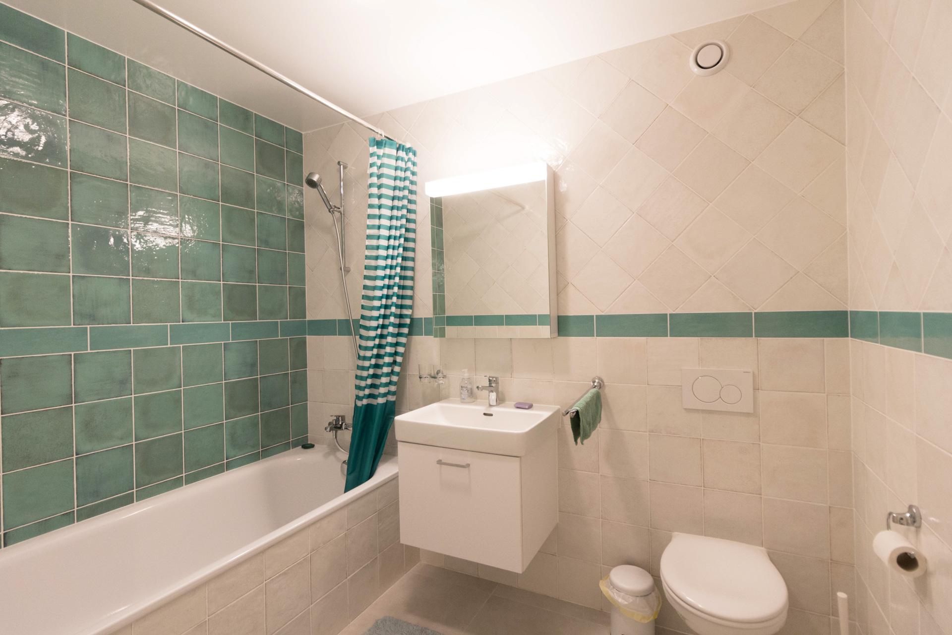 Apartment renovation : Bathroom