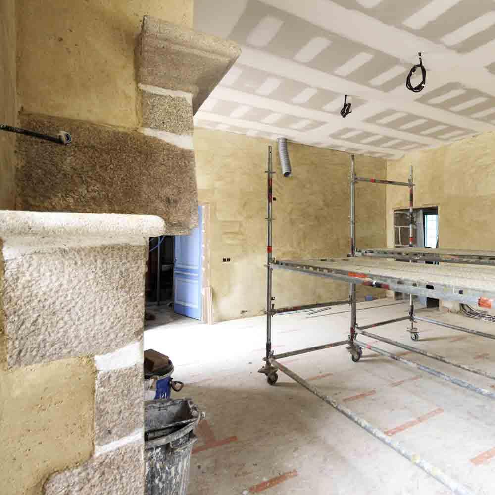CSDK Transformation intérieur Bretagne 1 - Transformation d'un Château - Bretagne - CSDK Transformation intérieur Bretagne 1