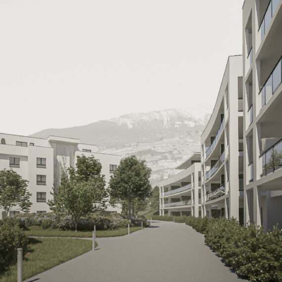 CSDK Architectes Sion Greenparc 6 570x570 - Greenparc Housing - CSDK Architectes Sion Greenparc 6 570x570