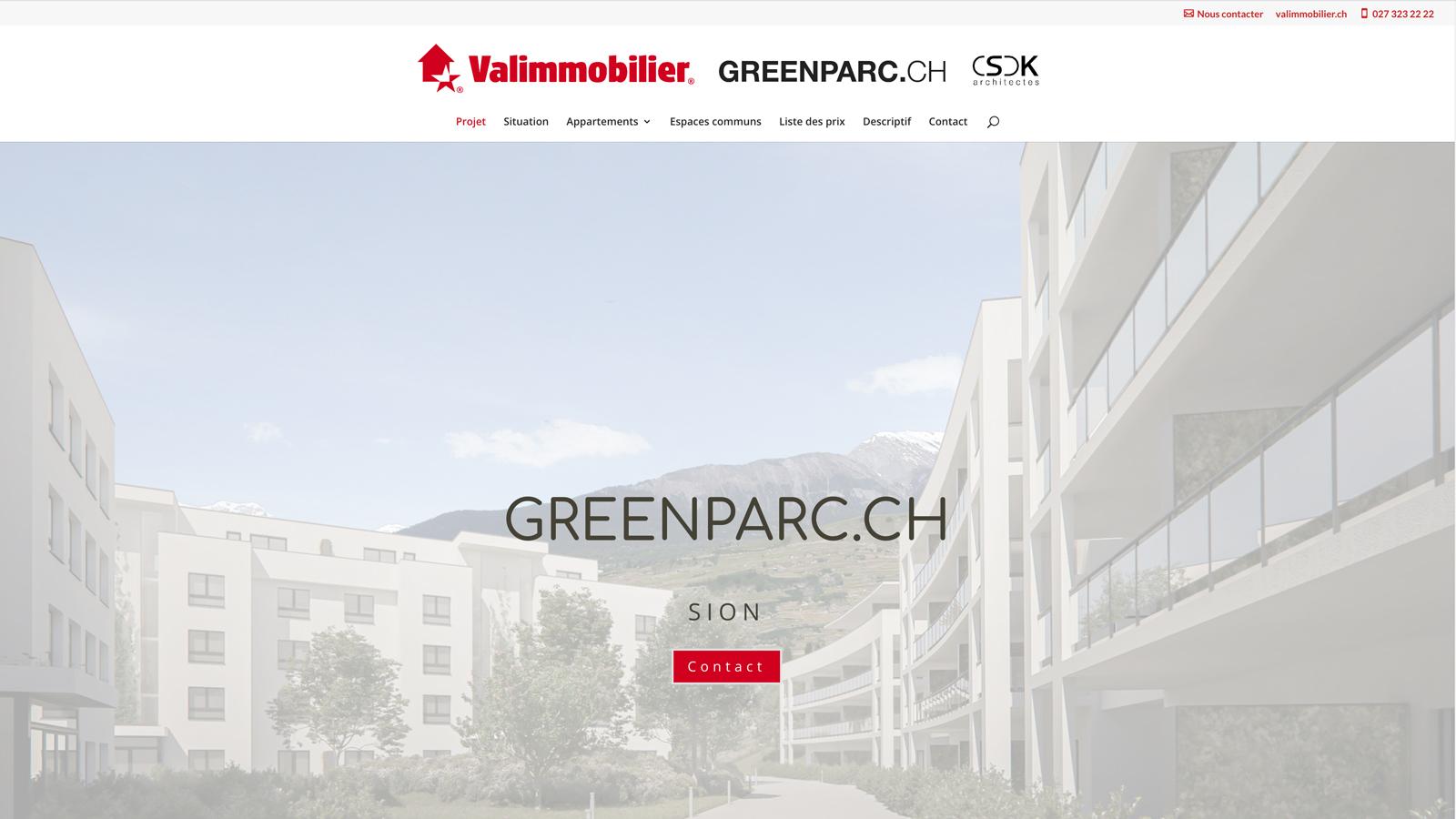 CSDK-Architectes-Sion-Greenparc-Website