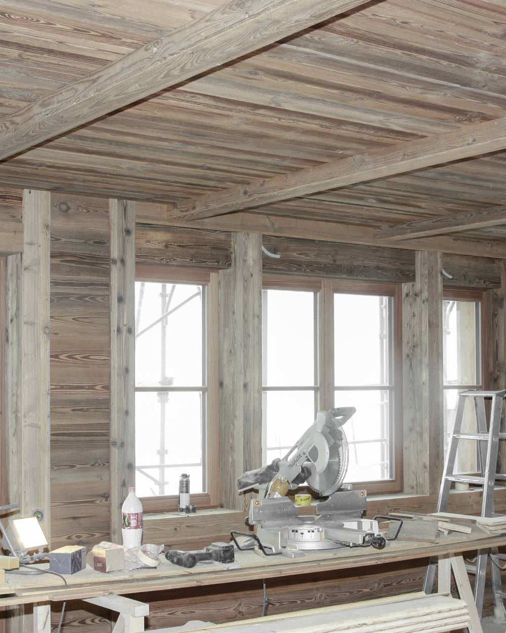 CSDK Saas Fee Construction Inte%CC%81rieur Vieux Bois 2 - Authentic Chalets - Old Wood - CSDK Saas Fee Construction Inte%CC%81rieur Vieux Bois 2