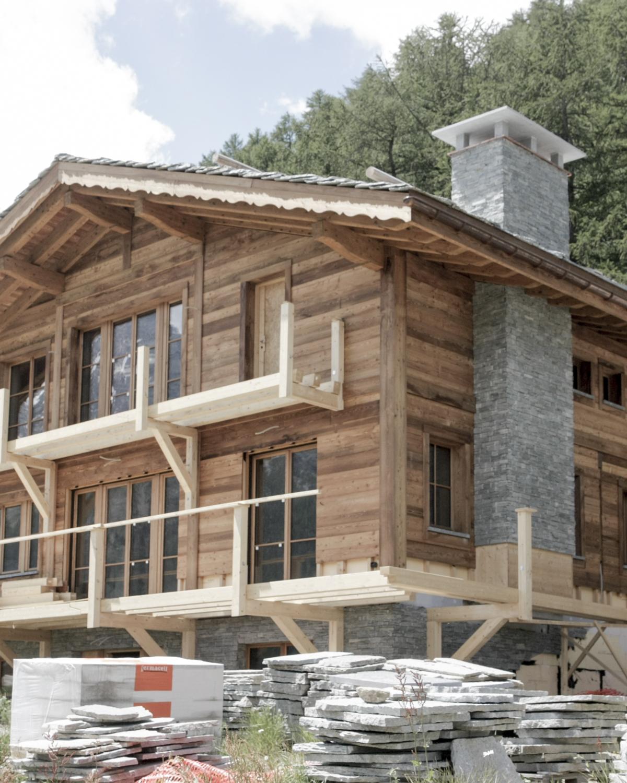 CSDK Construction balcons en bois Saas Fee 3 - Chalets authentiques – Balcons - CSDK Construction balcons en bois Saas Fee 3