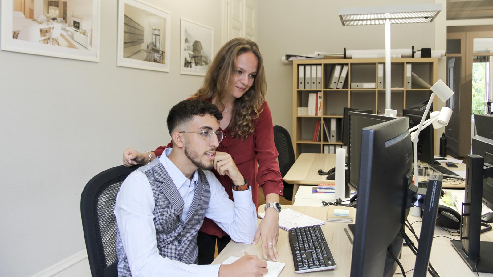 CSDK Architectes Team Laure Ryan - CSDK ouvre ses portes à deux nouveaux stagiaires - CSDK Architectes Team Laure Ryan
