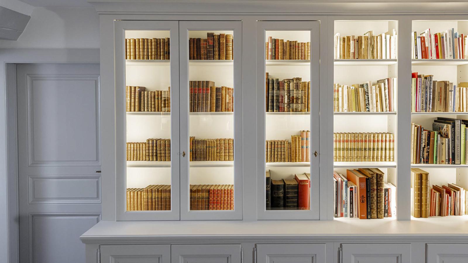 CSDK Architectes Bibliothe%CC%80que Cre%CC%81ation 11 - Custom-made bookcase - Geneva - CSDK Architectes Bibliothe%CC%80que Cre%CC%81ation 11