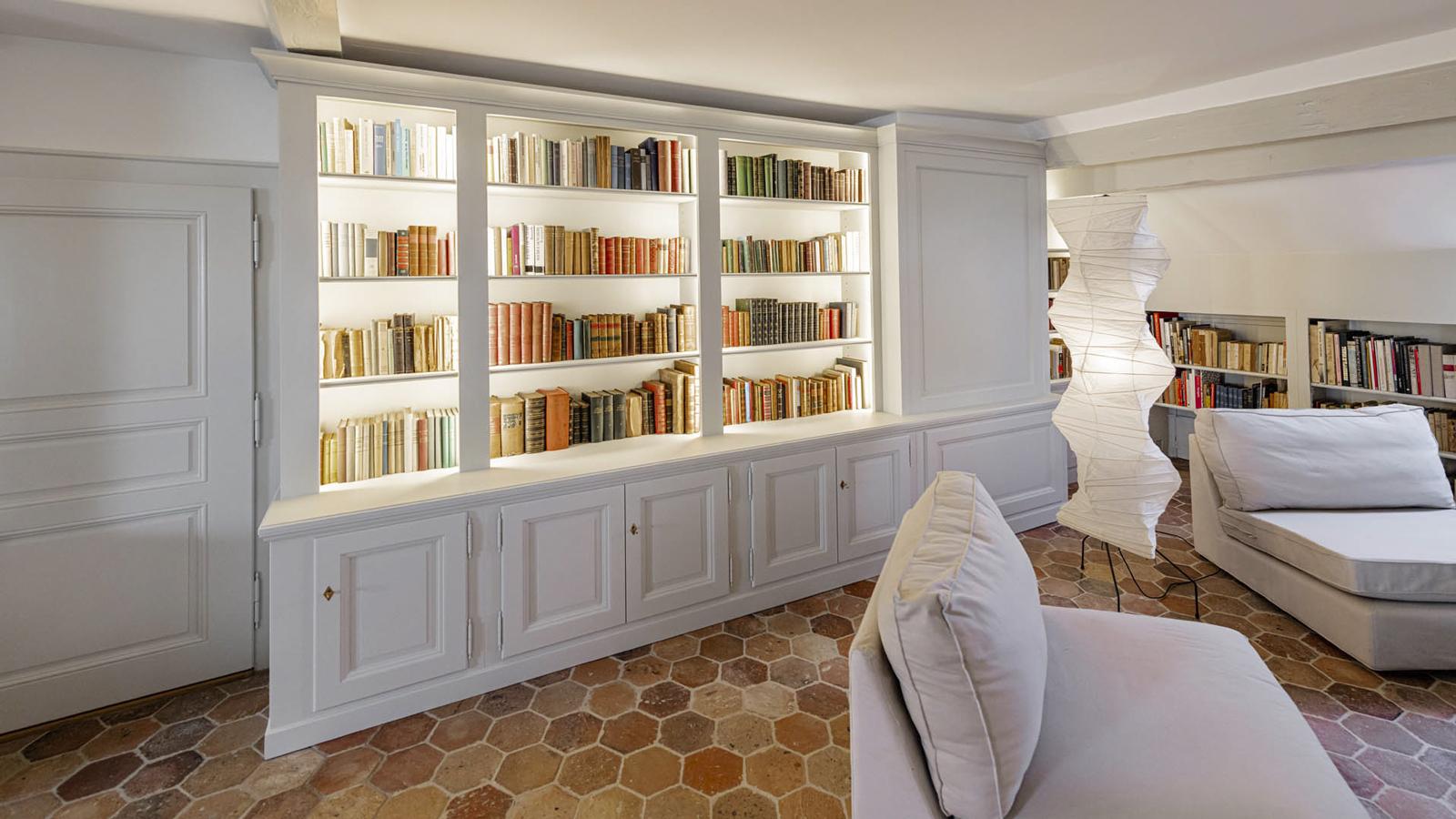 CSDK Architectes Bibliothe%CC%80que Cre%CC%81ation 7 - Custom-made bookcase - Geneva - CSDK Architectes Bibliothe%CC%80que Cre%CC%81ation 7