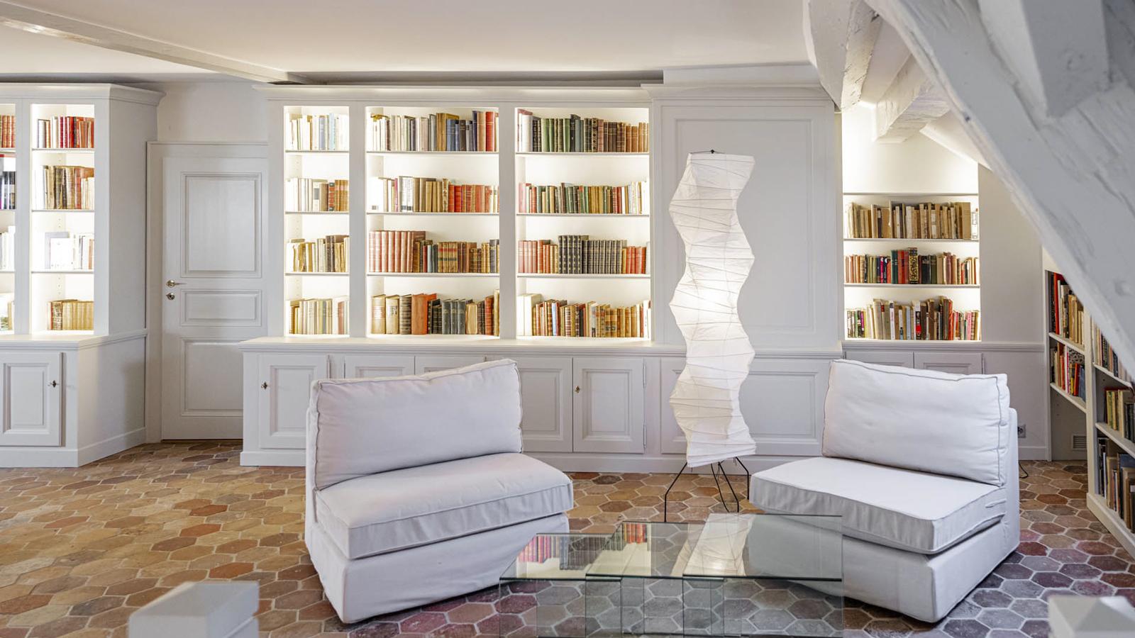 CSDK Architectes Bibliothe%CC%80que Cre%CC%81ation 8 - Custom-made bookcase - Geneva - CSDK Architectes Bibliothe%CC%80que Cre%CC%81ation 8