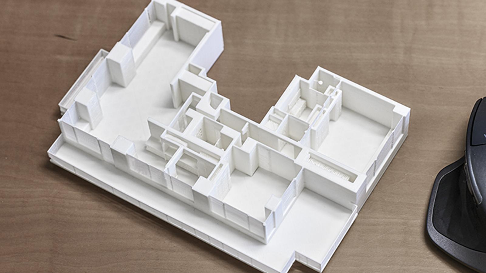 CSDK Architectes Bureaux Imprimante3D 3 - Maquette 3D - Impression - CSDK Architectes Bureaux Imprimante3D 3
