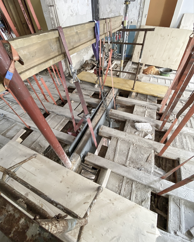 CSDK Architectes Renforts Immeuble Geneve - Renforts métalliques - Genève - CSDK Architectes Renforts Immeuble Geneve